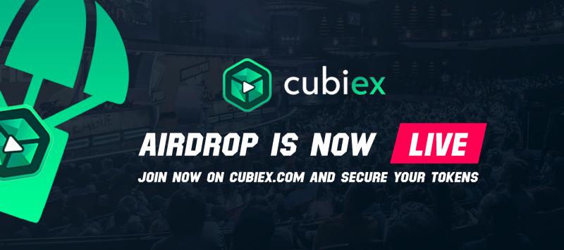 Cubiex Airdrop » Claim 100 free CBIX tokens (~ $10)