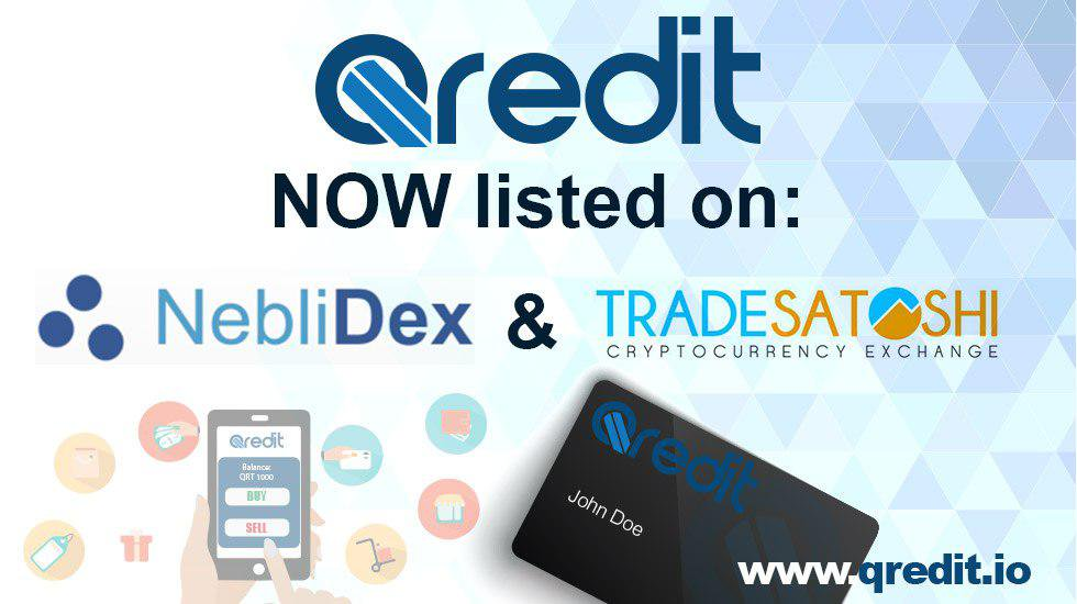 Qredit Airdrop » Claim 200 free XQR tokens