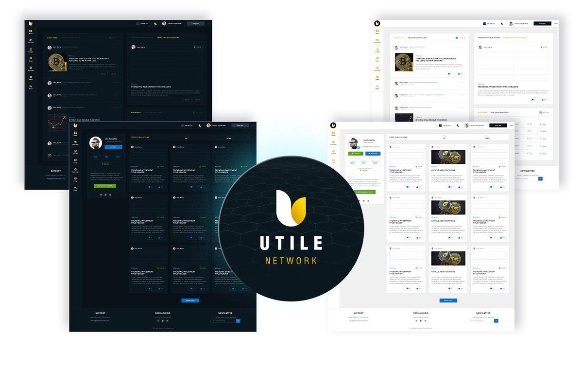 Utile Network Airdrop » Claim 100 free UTL tokens (~ $12)