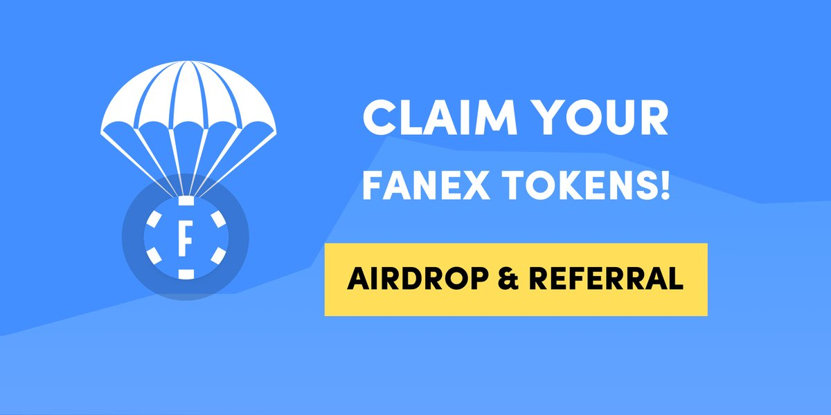 Fanex Airdrop » Claim 50 free FANEX tokens (~ $4 + ref)