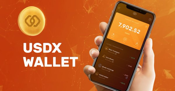 USDX Wallet Airdrop » Claim 8 free USDX tokens (~ $8 + ref)