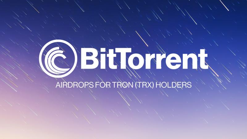 BitTorrent Airdrop » Claim free BTT tokens