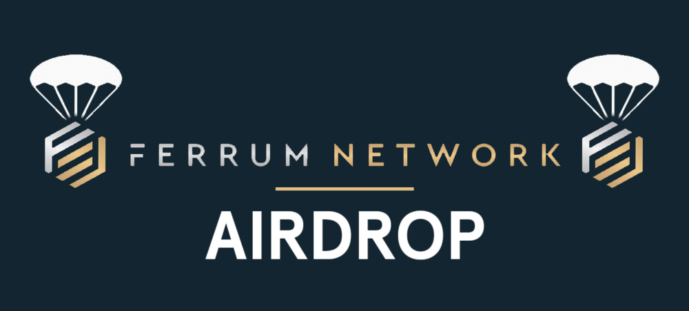 Ferrum Network Airdrop » Claim Upto 200 free FRM tokens (~ $3.3)
