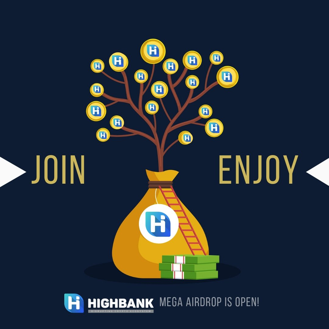HighBank Airdrop » Claim free HIGH tokens