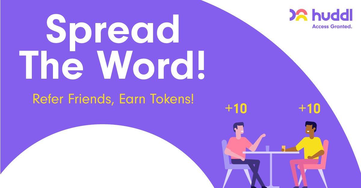 Huddl Airdrop » Claim 50 free HUDDL tokens