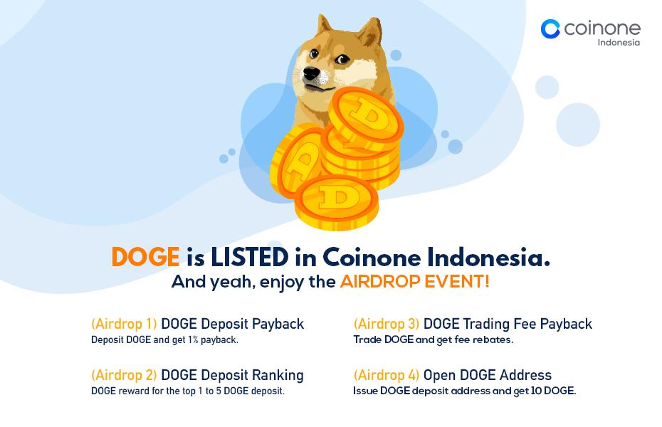 Dogecoin Airdrop » Claim 10 free DOGE tokens (~ $1)